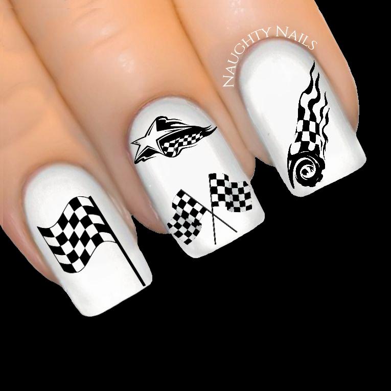 racing nail arts