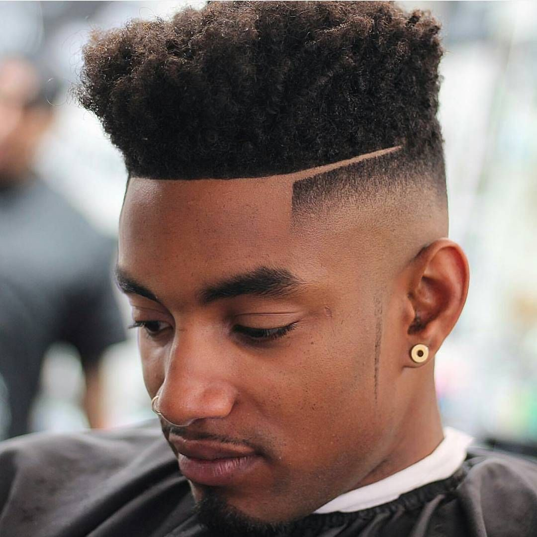 high top bald fade
