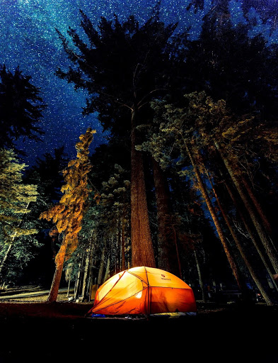 Trade the City Lights for Sleeping Under the Stars