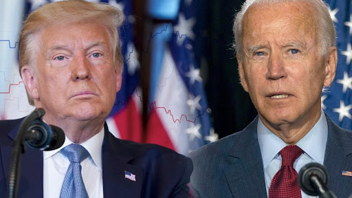 What U.S people says about Donald Trump and Joe Biden?